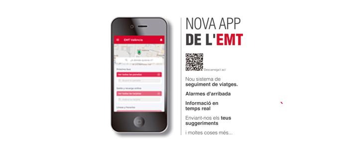10 razones para usar la nueva APP de EMT València - EMT València